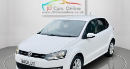 VW Polo Match edition, 63 plate, 5 door
